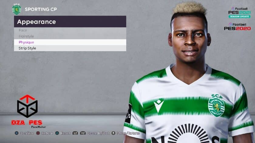 eFootball PES 2021 / Idriss Doumbia Face