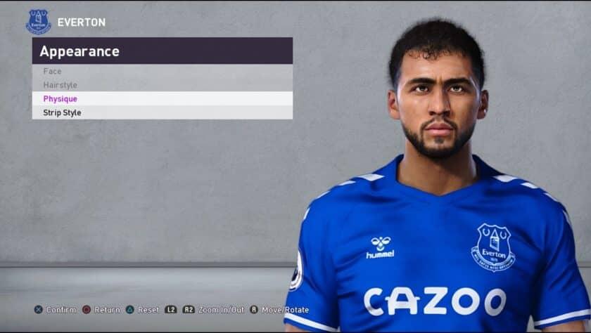 eFootball PES 2021 / Dominic Calvert-Lewin Face