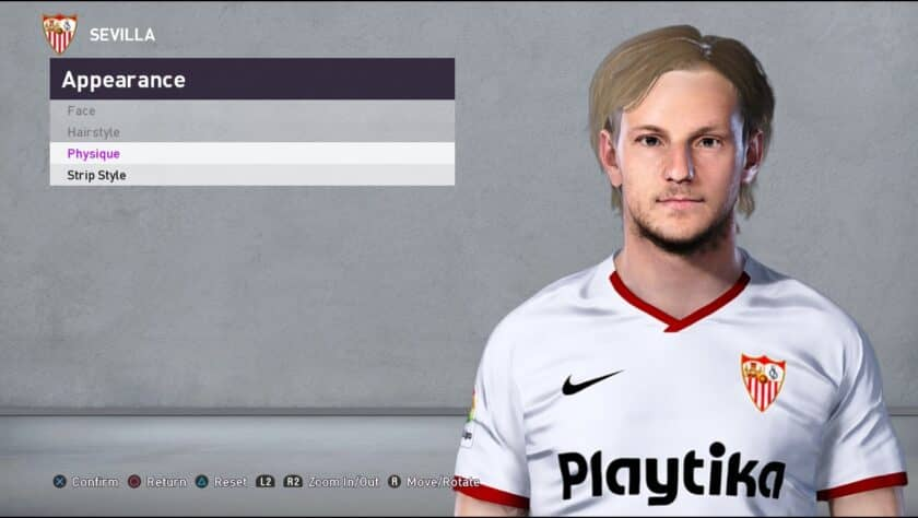 eFootball PES 2021 / Ivan Rakitic Face