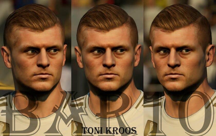 Toni Kroos Face Update