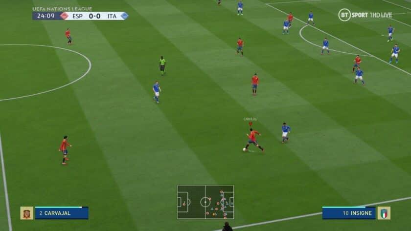 FIFA 20 / Табло Лига наций УЕФА