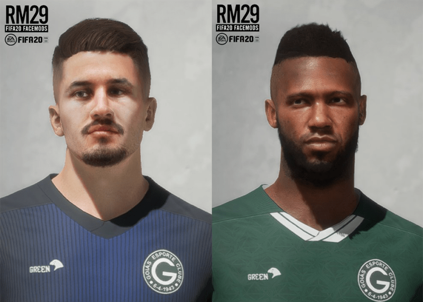 FIFA 20 / Goias Faces Pack