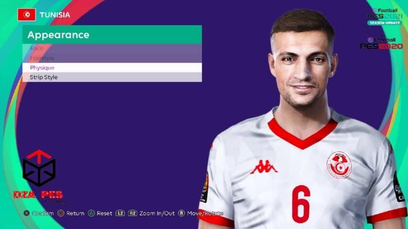 eFootball PES 2021 / Rami Bedoui Face