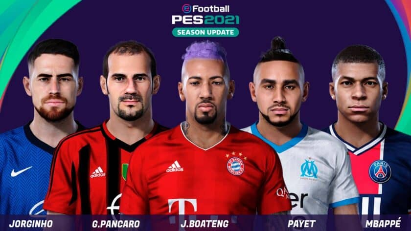 eFootball PES 2021 / Facepack v4