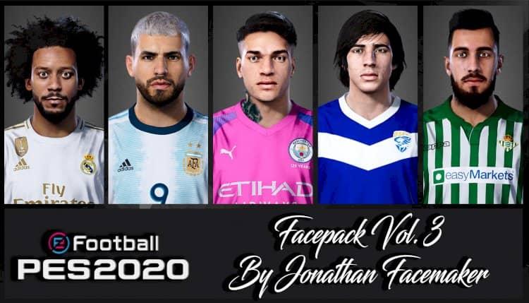eFootball PES 2020 / Facepack Vol. 3