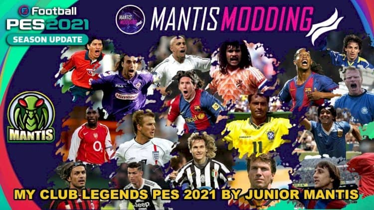 eFootball PES 2021 / MyClub Legends для PS4 и ПК