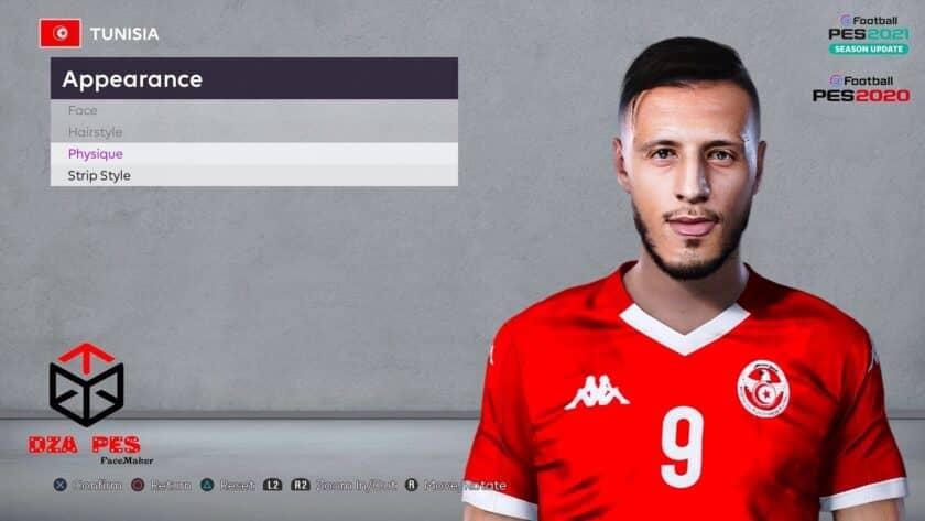 eFootball PES 2021 / Anice Badri Face