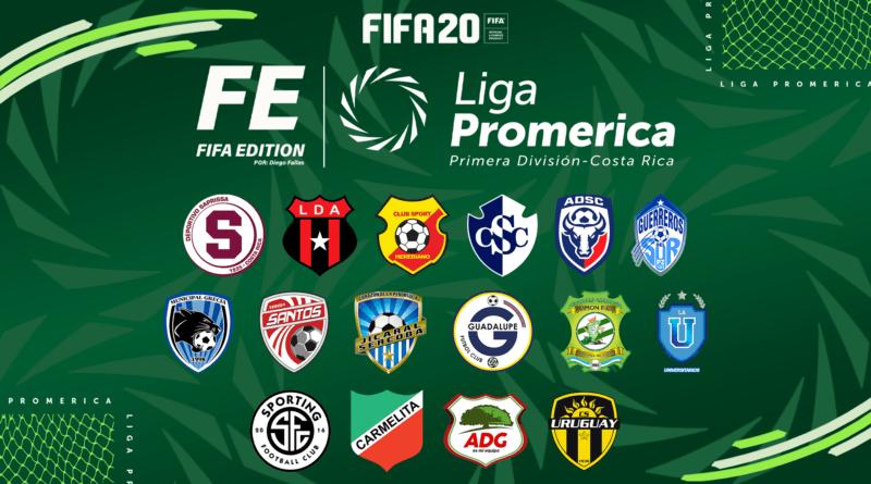 Liga Promerica в FIFA 20
