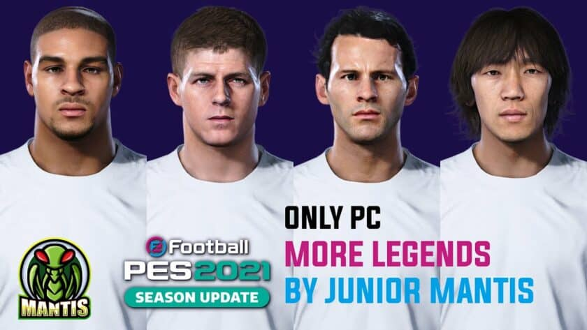 eFootball PES 2021 / More Legends V1 от Junior Mantis