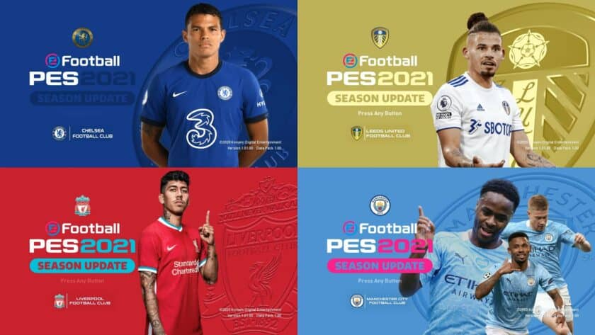 eFootball PES 2021 / Graphic Menu Mod by Hawke