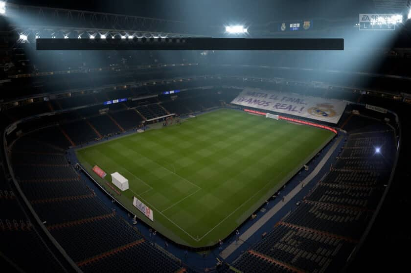 FIFA 20 / Отсутствие зрителей на трибуне