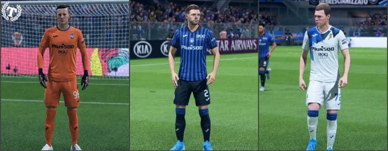 Форма Аталанты на сезон 20-21 для FIFA 20