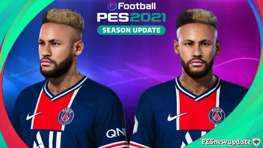 eFootball PES 2021 / Faces Neymar Jr by SR