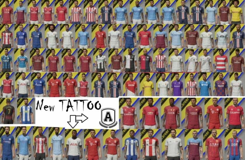 FIFA 20 / Tattoos Pack AIO
