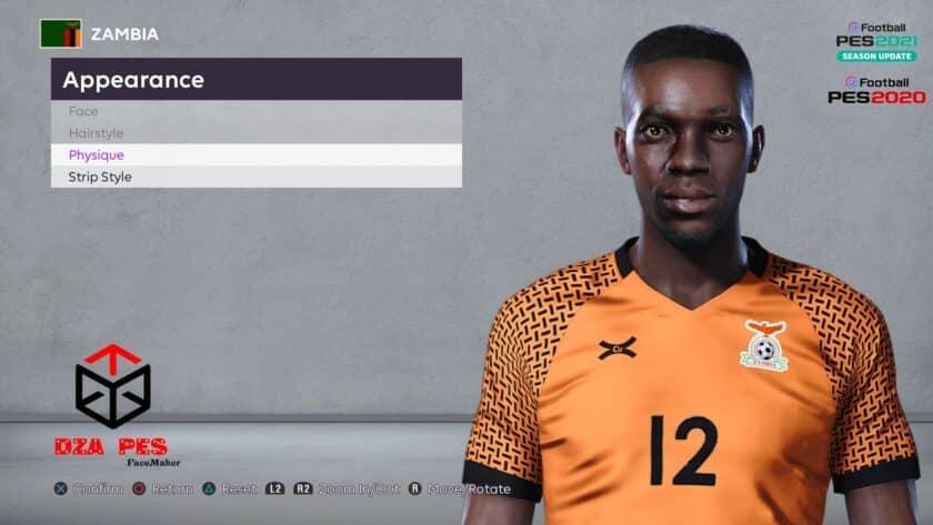 eFootball PES 2021 / Justin Shonga Face