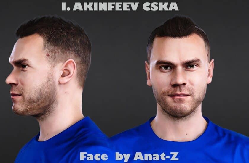 eFootball PES 2021 / Igor Akinfeev Face