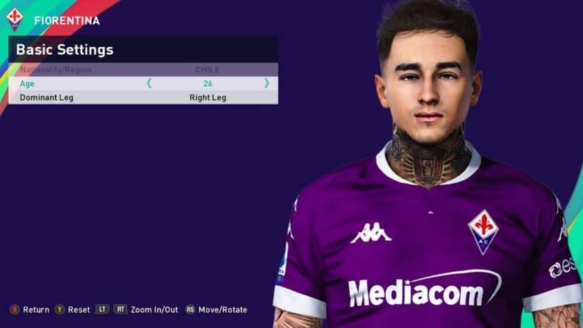 eFootball PES 2021 / Erick Pulgar Face