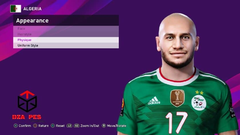 eFootball PES 2021 / Adlene Guedioura Face