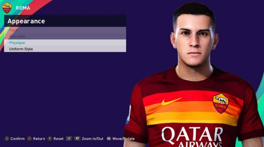 eFootball PES 2021 / Roger Ibanez Face