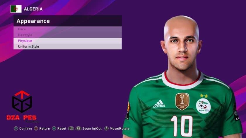 eFootball PES 2021 / Sofiane Feghouli Face
