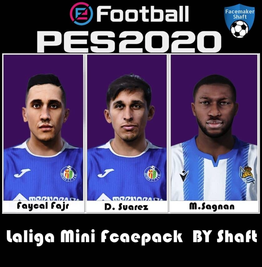 eFootball PES 2021 / La Liga Mini Facepack Vol 1