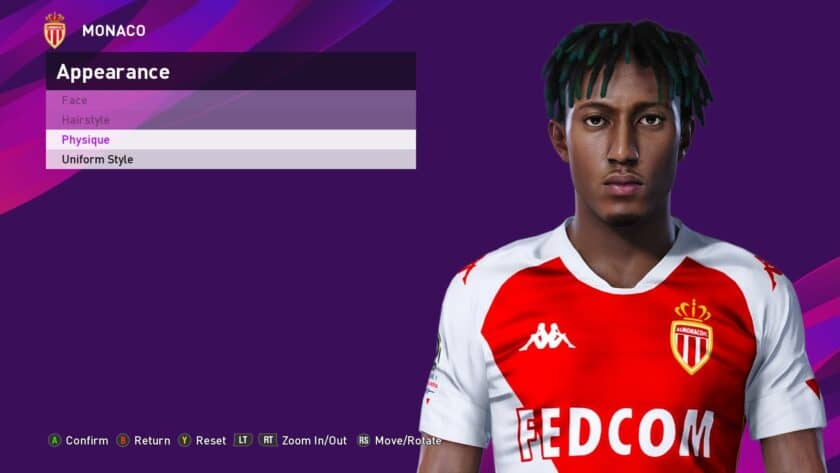 eFootball PES 2021 / Gelson Martins Face