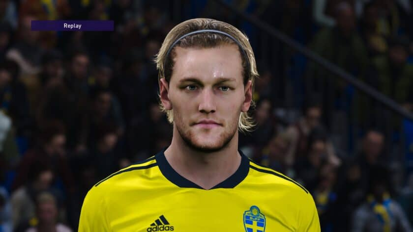 eFootball PES 2021 / Emil Forsberg Face