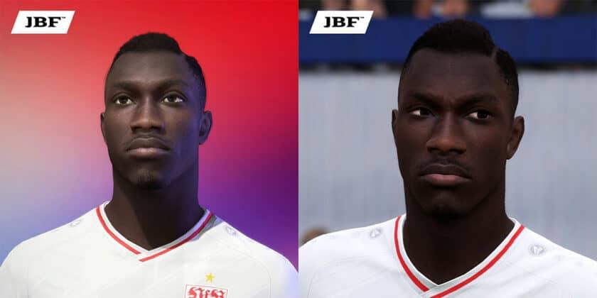 FIFA 21 / Silas Wamangituka Face