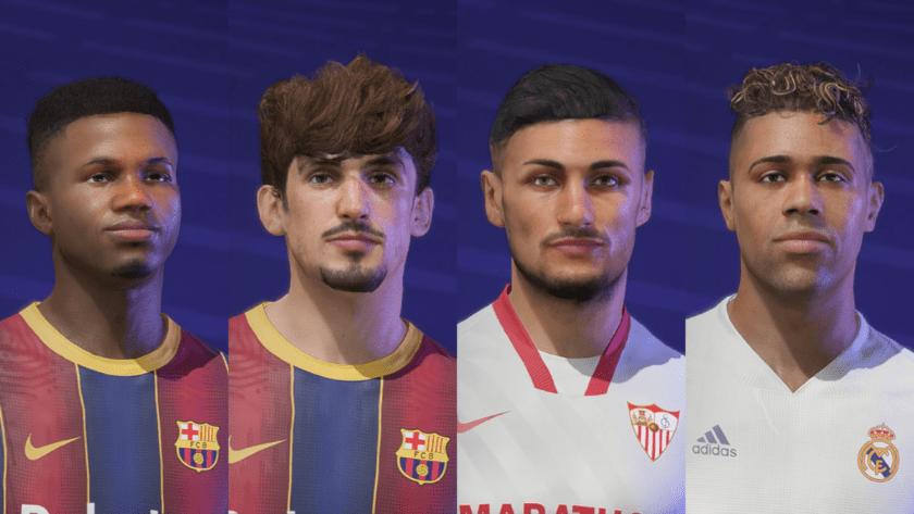 FIFA 21 / Пак реальных лиц 1.0