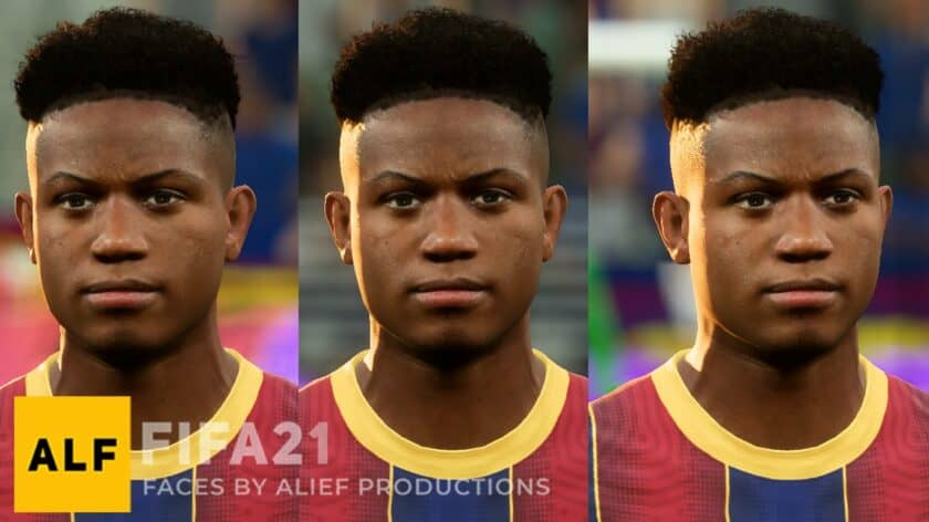 FIFA 21 / Ansu Fati Face