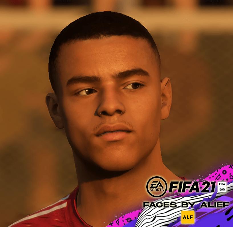FIFA 21 / Mason Greenwood Face