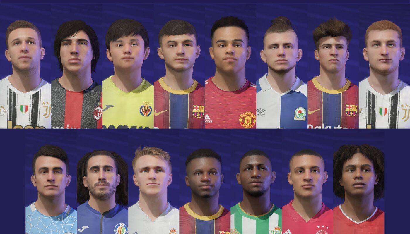 FIFA 21 / FACEPACK by FCB17 #2