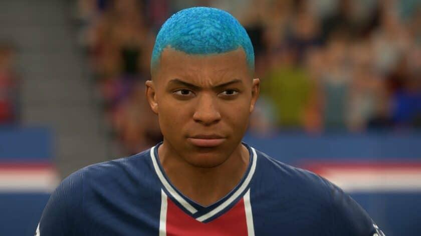 FIFA 21 / Новая прическа для Мбаппе