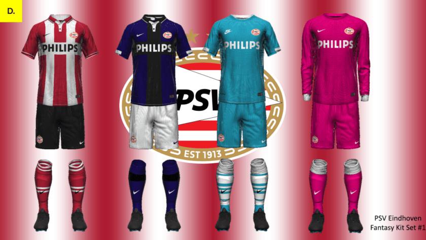 PSV Eindhoven Kit Set #1