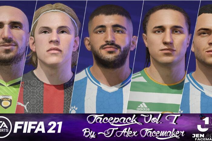 FIFA 21 / Facepack vol. I by J.Alexfacemaker