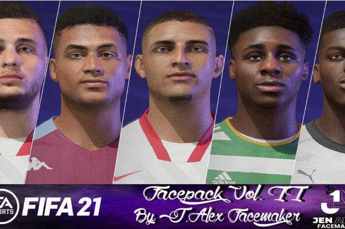 FIFA 21 / Facepack vol. II by J.Alexfacemaker
