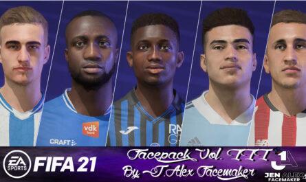 FIFA 21 / Facepack vol. III By J.Alexfacemaker