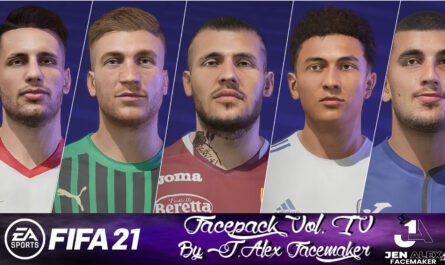 FIFA 21 / Facepack vol. IV By J.Alexfacemaker