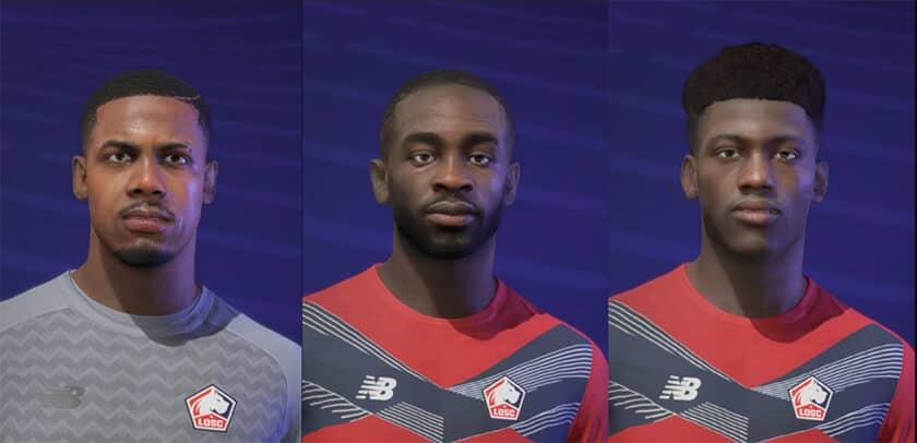 FIFA 21 / Facepack by MafiaMND